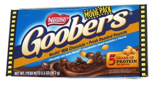 Goobers Candy 3.5oz Theater Size