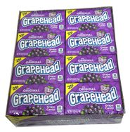 Grapeheads Candy 24 Count