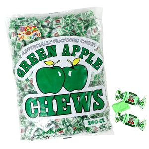 Green Apple Chews 240 Count
