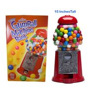 "Gumball Machine Bank 15"" Tall"