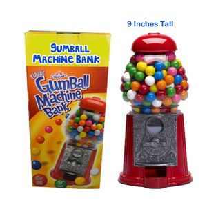 Gumball Machine & Bank 9""
