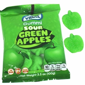 Gummi Apples 4.5oz Bag