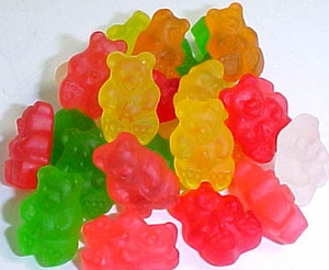 Gummi Bears 5lb Fruit  Albanese