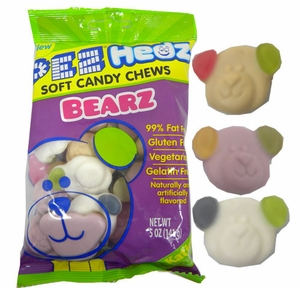 Gummi Bearz Pez Hedz 5oz Bag