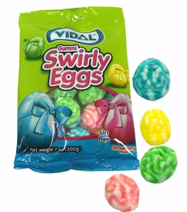 Gummi Easter Swirly Eggs 7oz Bag