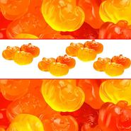 Gummi Fall Pumpkins 5lb Bag Bulk