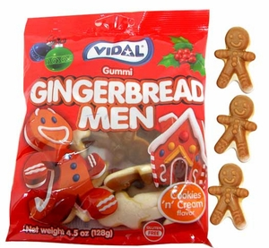 Gummi Gingerbread Men 4.5oz bag