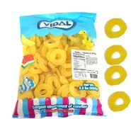 Gummi Pineapple Rings 2.2lbs (168 Count)