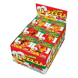 Gummi Pizza 48 Count