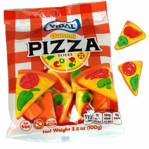 Gummi Pizza Slices 3.5oz Bag