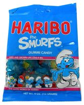 Gummi Smurfs 4oz bag