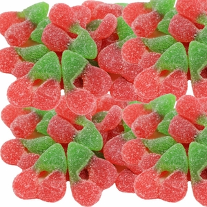 Gummi Sour Twin Cherries 2.2lb Bag