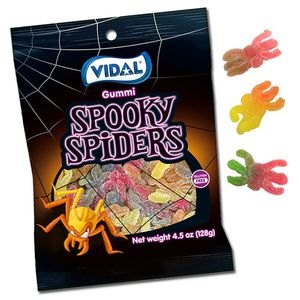 Gummi Spiders Candy 4.5oz Bag