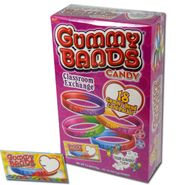 Gummy Bands Candy 18 Count