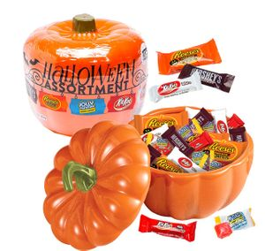 Halloween Assortment Candy Filled Pumpkin (160 pieces)
