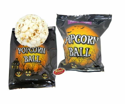 Skip The Party Supply Stores And Decorate With Halloween Popcorn Balls!