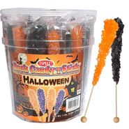 Halloween Rock Candy Sticks 36 Count