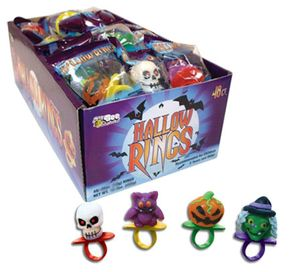 Hallowrings Candy Rings 48 Count