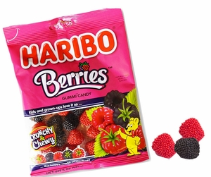 Haribo Berries 5oz Bag
