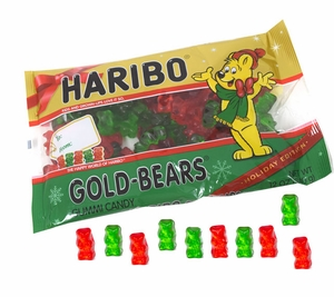 Haribo Christmas Gummy Bears 12oz