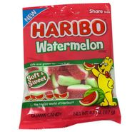 Haribo Gummi Soft Watermelons 4oz