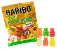 Haribo Sour Gummi Bears 4.5oz Bag