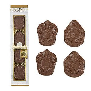 Harry Potter Chocolate Crests 4pk Jelly Belly
