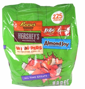 Hershey's All Time great Assortment 225 Count