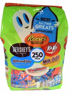 Hershey's All Time Great Mix 250 Count Halloween
