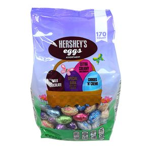 Hershey's Assorted Chocolate Eggs 170 Count