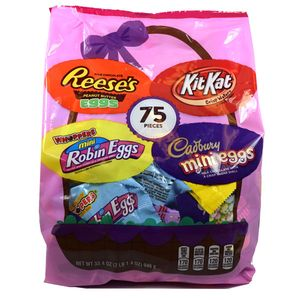 Hershey's Assorted Easter Candy Mix 75 Count