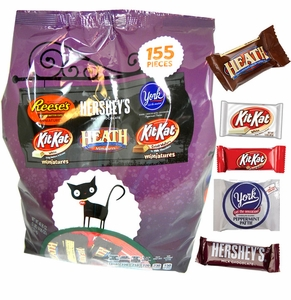 Hershey's Assorted Snack Size Assortment 155 Count Bag