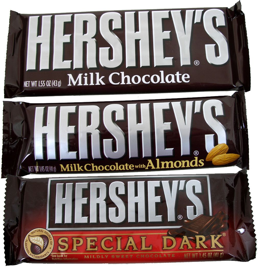 Hershey's Candy Bar 36 Count Box (Pick