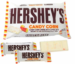 Hershey's Candy Corn Candy Bar Snack Size 21 Count
