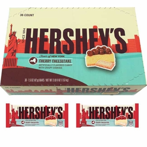 Hershey's Cherry Cheesecake Bars 36 Count