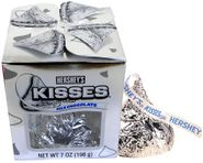Hershey's Giant Kiss 7oz Silver Wrapped