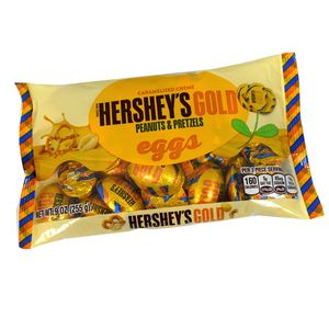 Hershey's Gold Easter Candy Eggs 9oz Bag