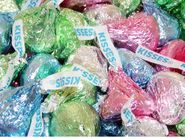 Hershey's Kisses 25lb Bulk Pastel Colors