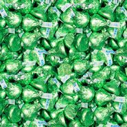 Hershey's Kisses Lite Green 5lb Bag