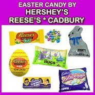 Hershey's, Reese's, Cadbury Easter Candy