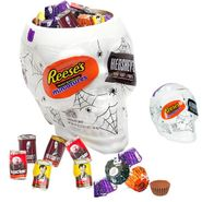 Hershey's Skull Bowl With Candy 37oz