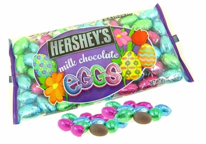 Hershey's Solid Milk Chocolate Eggs 10oz Bag