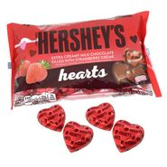 Hershey's Strawberry Creme Filled Hearts 10oz