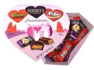 Hershey's Valentine's Day Assorted Heart Box 7.1oz