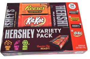 Hershey's Variety Pack 24ct  Candy Bars