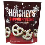 Hershey's White Chocolate Covered Pretzels Holiday 7.5oz