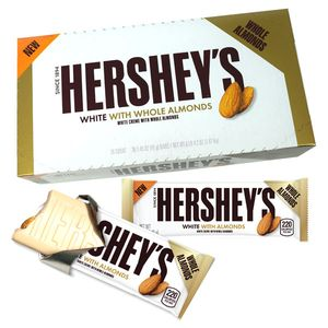 Hershey's White Creme With Almond Bars 36 Count
