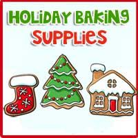 Holiday Baking Supplies Selections