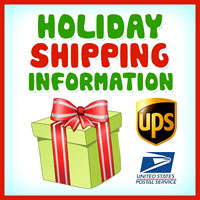 Important Holiday Shipping Info