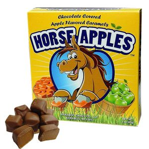 Horse Apples Caramel Apple 3oz